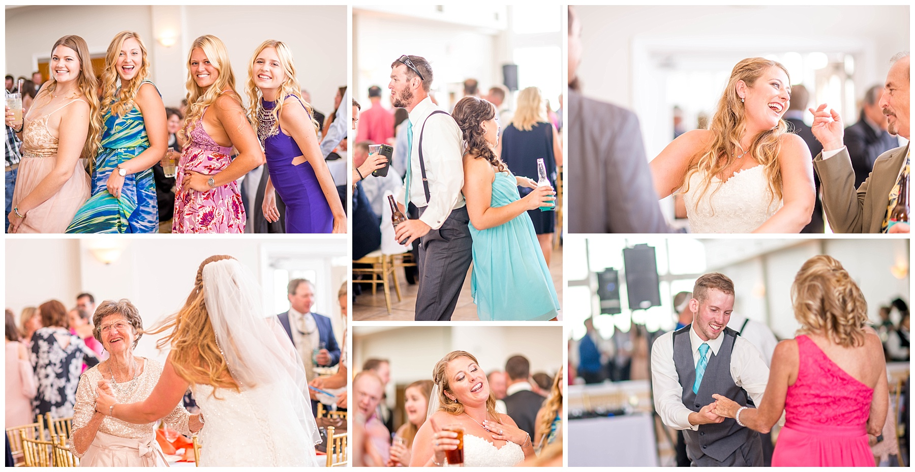 Celebrations at the Bay wedding