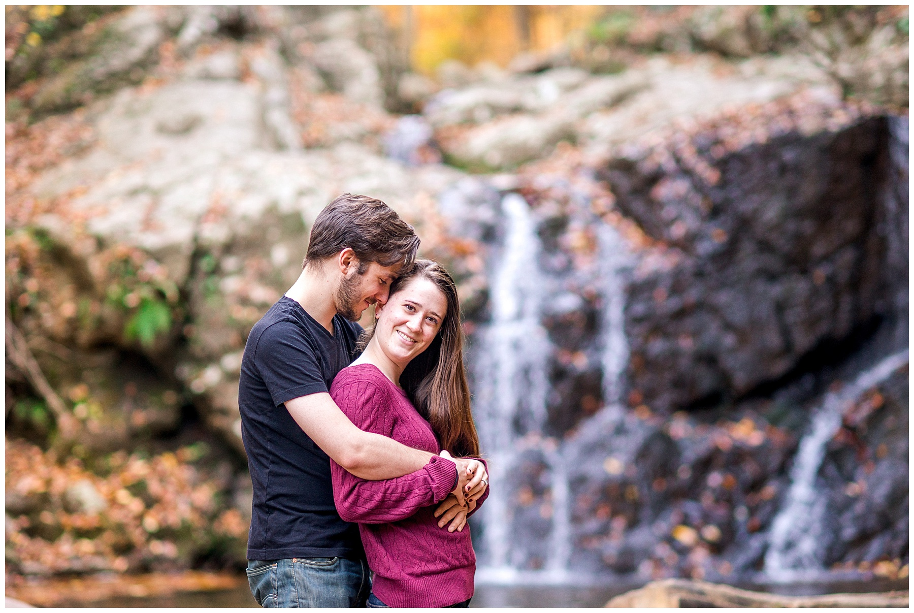 Patapsco State Park Engagement Photographer